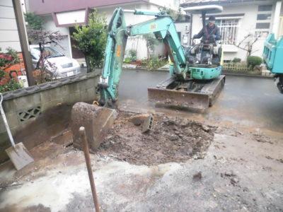 福井市 駐車場 コンクリート 工事 1